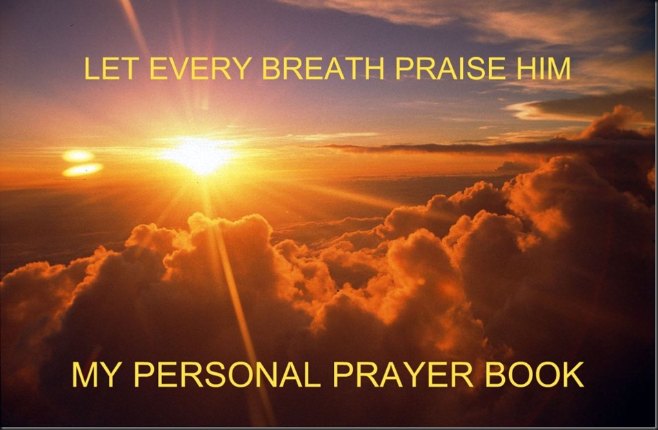 Biblical Inspiration 1 ~ LET EVERY BREATH PRAISE HIM ~ MY PERSONAL PRAYER BOOK ~ Ian Leitch ~ The Moody Church. Sunrise (1)