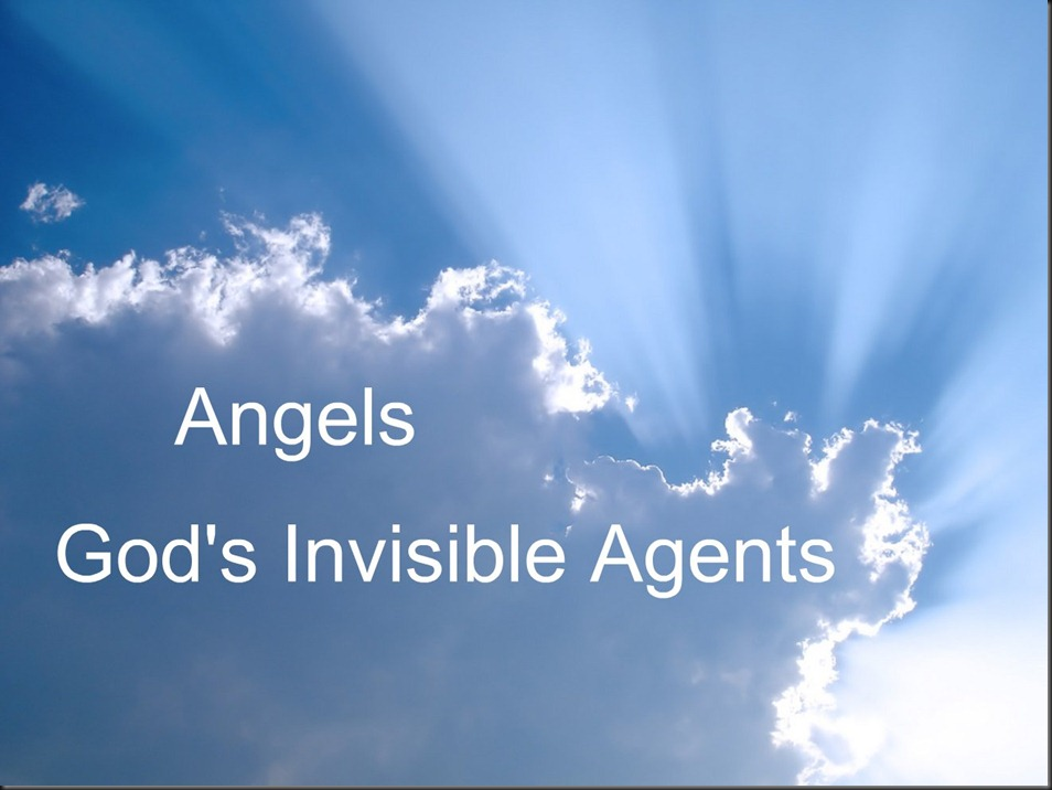 Biblical Inspiration 1 ~ Series, The Invisible World ~ Where Battles Are Lost and Won ~ Angels, God's Invisible Agents ~ The Moody Church (1)