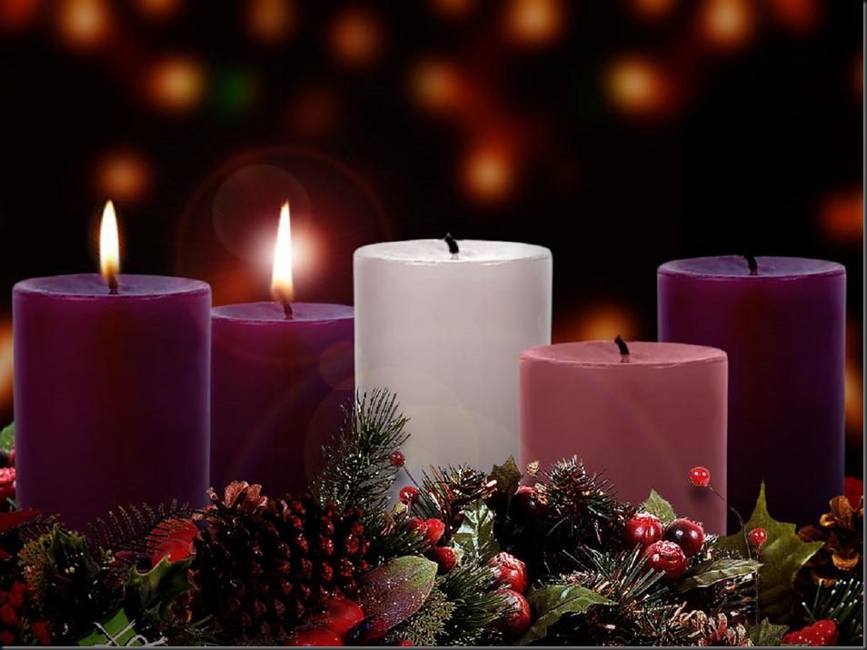 Sunday, December 08, 2013 ~ Second Week of Advent ~ The Candle of Love